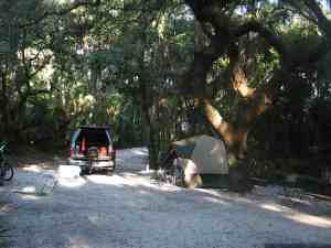 Site #40 at Lithia Springs Park Campground