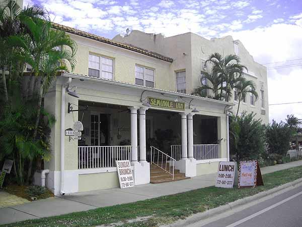 Historic Florida Seminole Inn in Indiantown