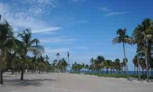 Crandon Park Beach on Key Biscayne