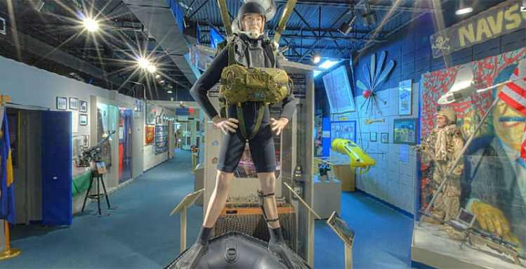 Interior, National Navy UDT-Seal Museum