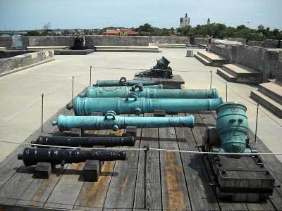 St. Augustine cannons at Castillo de San Marcos