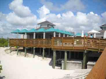 Clam Pass Park concession area, Naples, Florida