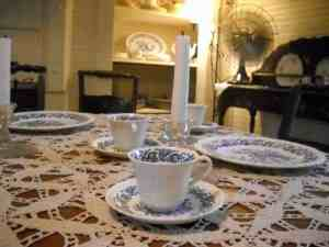 Marjorie Kinnan Rawlings Historic State Park: The china at Cross Creek