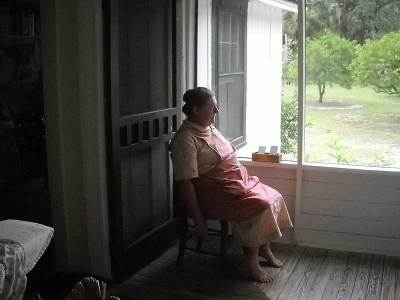 Marjorie Kinnan Rawlings Historic State Park: Tour guide at Cross Creek