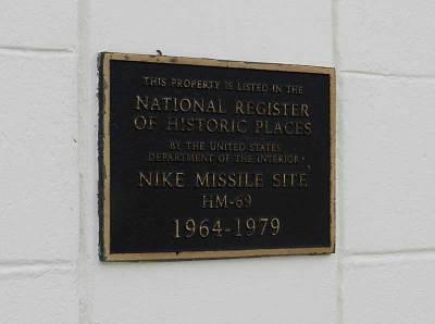 Nike base is on National Register of Historic Places