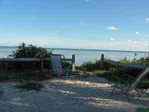 typical campsite at long key state park