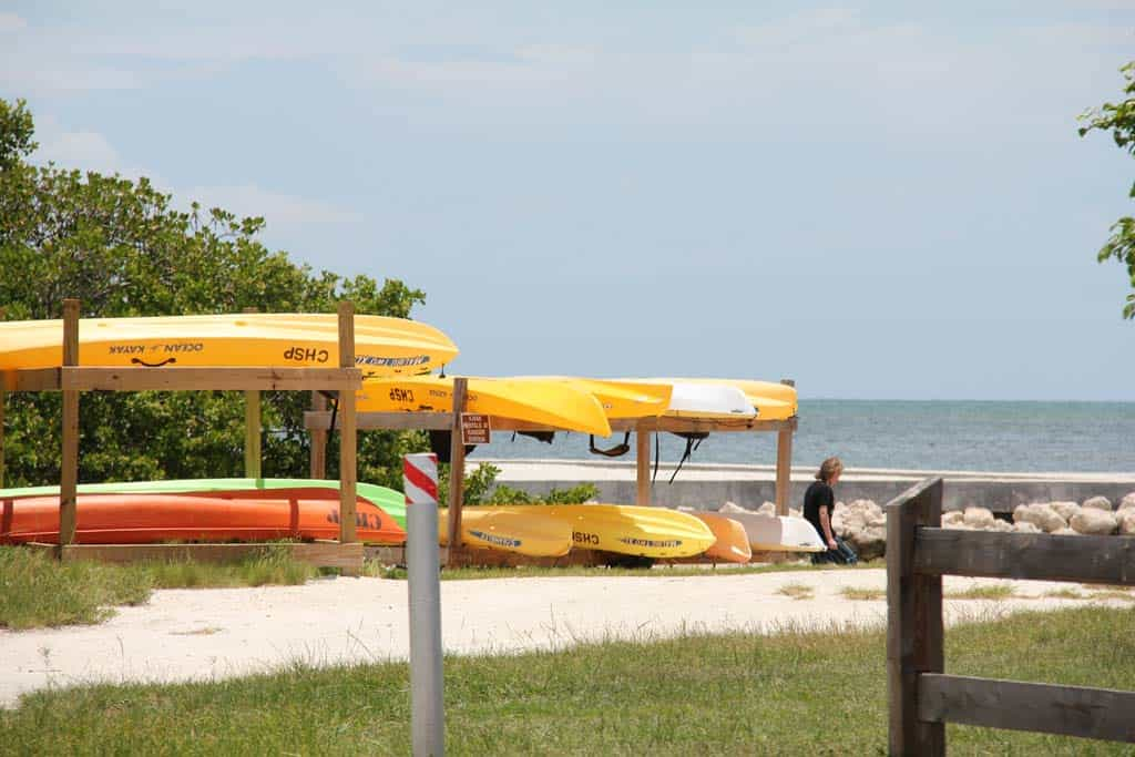 Curry Hammock kayaks for rent Florida Keys Overseas Highway Mile-Markers Guide