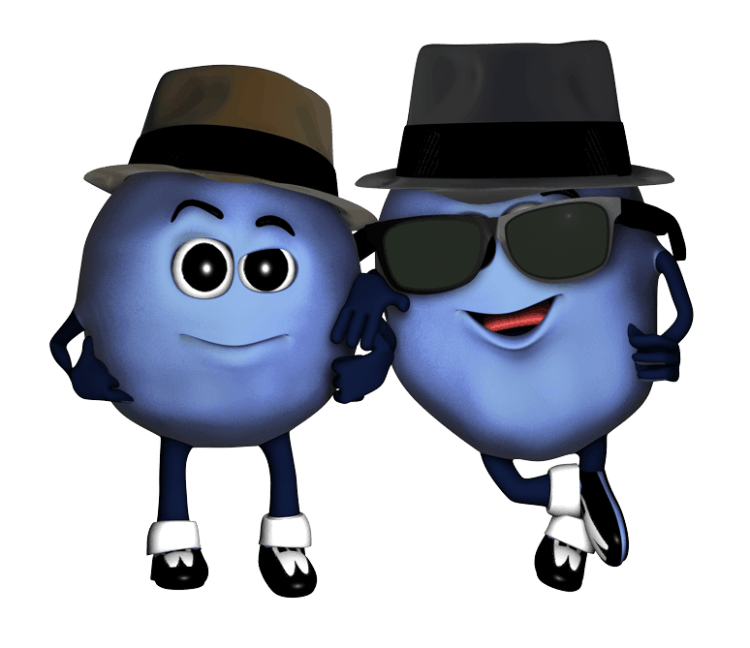 Florida Blueberry Festival Characters