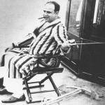 Al Capone fishes off Palm Island in Miami