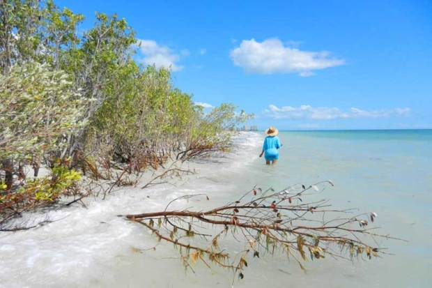 Tigertail Beach in Marco Island is unspoiled and uncrowded
