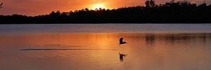 Sunset at Fort Desoto Park