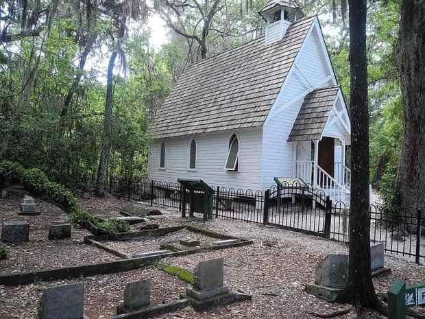 Mary's Chapel at Historic Spanish Point