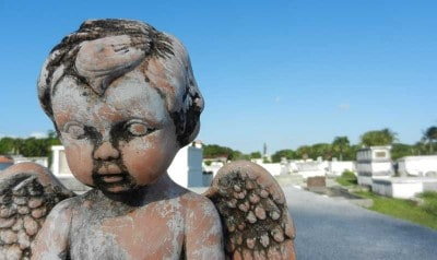 Key West Cemetery putto