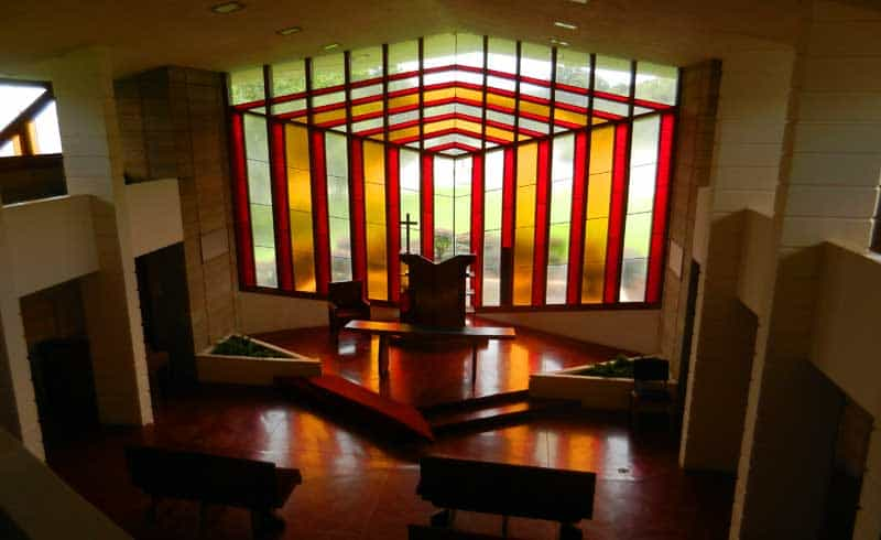 The Danforth Chapel Was Designed By Frank Lloyd Wright, One Of 12 Wright  Buildings On
