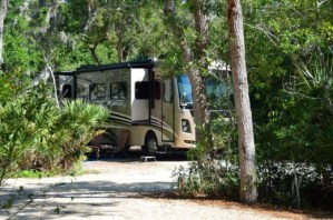 RV camping in St. Augustine