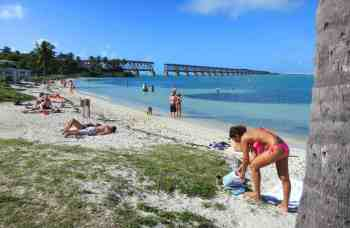 Calusa Beach at Bahia Honda State Park in the Florida Keys.