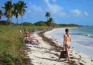 Sandspur Beach at Bahia Honda State Park in the Florida Keys