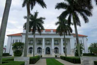 The Flagler Mansion, Whitehall, in Palm Beach.