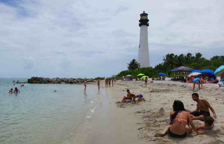 Cape Florida State Park on Key Biscayne