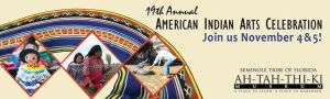American Indian Arts Festival poster