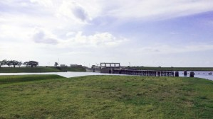 Locks on the St. Lucie Canal at Port Mayaca