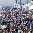 Seafood Festival with pirates on the side in historic St. Augustine