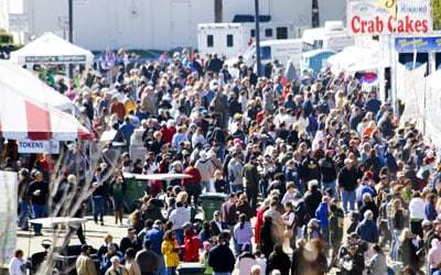 Lions Club Seafood Festival in historic St. Augustine: March 27-29, 2020