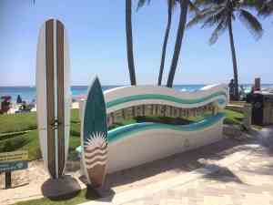 deerfield beach welcome sign