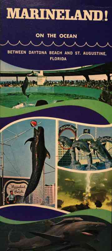 An old brochure from the Marineland attraction during its heyday.