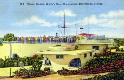 Marine Studios, world's only oceanarium - Marineland, Florida. State Archives of Florida, Florida Memory.