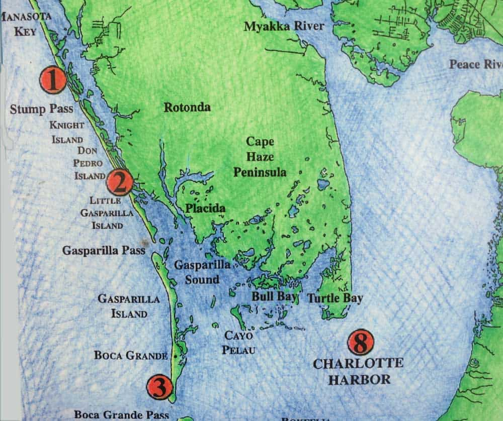Discover Other Florida Barrier Islands Along Gulf Coast Florida - Florida map state parks