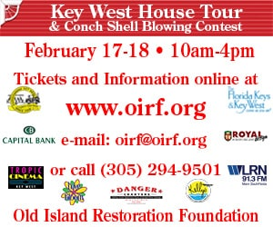February Key West House Tour ad