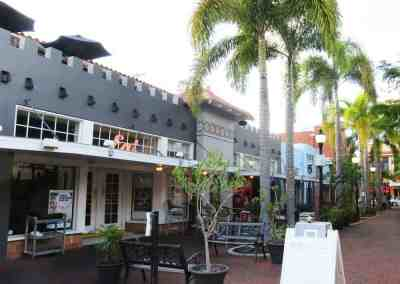Street in historic downtown Fort Myers.