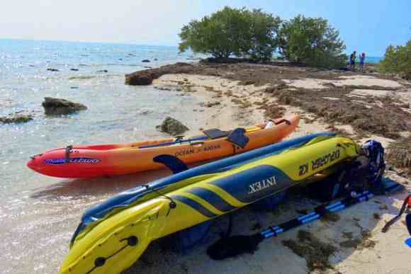 A popular kayak outing from Bahia Honda State Park is to Little Bahia Honda Island. (Photo: Bonnie Gross)