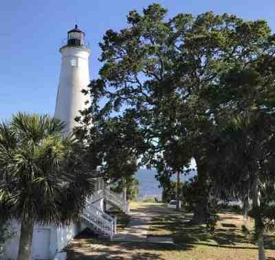 The 1831 lighthouse at St. Marks National Wildlife Refuge. (Photo: Bonnie Gross)