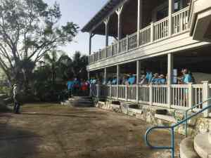 hurricane cleanup at biscayne national park