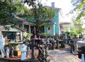 You could spend an hour just browsing all the stuff at the Grumbles Antique and Garden Shop in Dunnellon. (Photo: David Blasco)