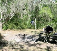 Primitive camping at Alderman's Ford: Kick it up a notch