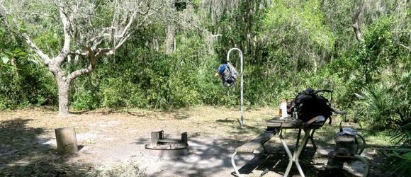 Primitive camping at Alderman's Ford: Kick it up a notch