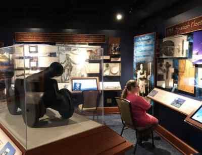 Exhibit at Florida Keys History & Discovery Center in Islamorada. (Photo: Bonnie Gross)
