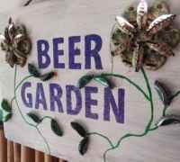 Garden at Florida Keys Beer Company. (Photo: Bonnie Gross)