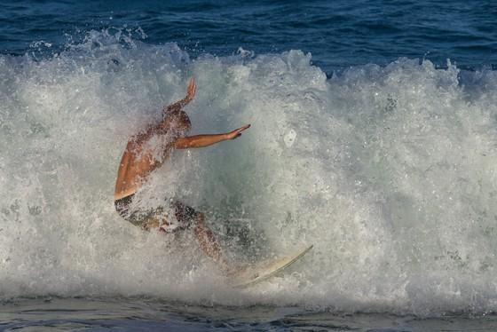 Surfing Sebastian Inlet