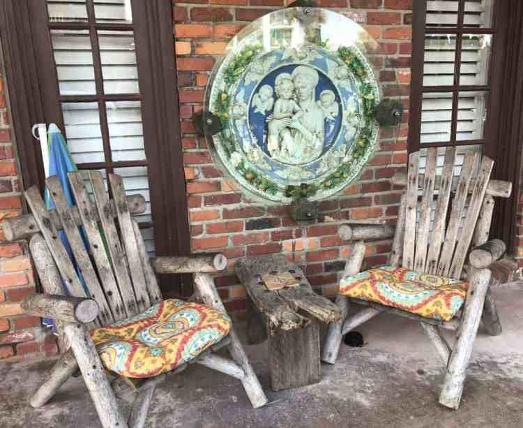 One of the salvaged artifacts used to decorate the Histori Driftwood Inn in Vero Beach. (Photo: Bonnie Gross)