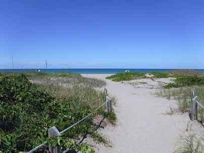 Frederick Douglass Beach on Hutchinson Island