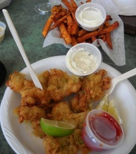 Alabama Jack's conch fritters, Florida Keys