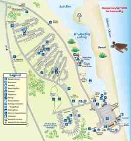 campground map anastasia state park