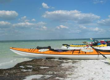 kayaks on anclote key