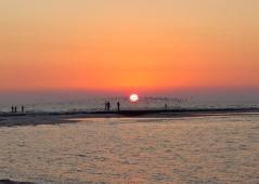 sunset on Anclote Key