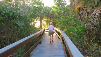 Walkway to Barefoot Beach, Bonita Springs