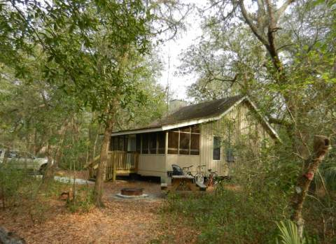 Cabin at Blue Spring State Park near Orlando